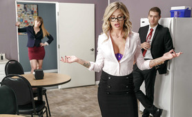 Jessa Rhodes fucks Co-Worker