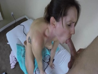 Sybian Riding And Cock Sucking