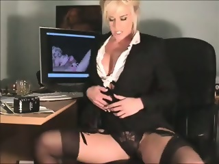 Really Hot Sexy Secretary