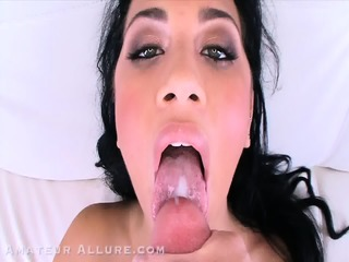 Slutty Girls Eat Cum