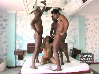 Kidnapped And Fucked By Three Black Guys