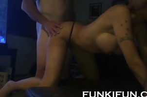 STEPSISTER BANGED HARD BY HER HORNY STEPBROTHERS - FAMILY THR