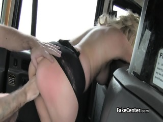 Taxi Driver Spunked Mature Pussy