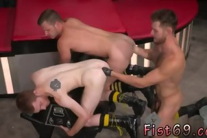 Fisting gay twinks movie Seamus O' Reilly is stacked on top
