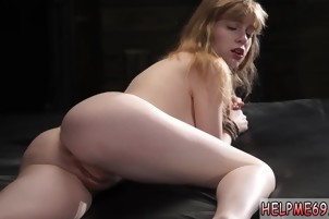 Brunette rough anal Back at Bruno's hideout
