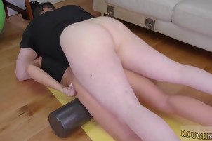Ass and pussy eating bondage Ass-Slave Yoga