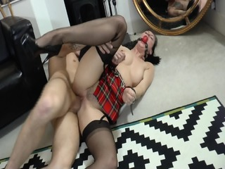 Lady In Bondage Loves Anal Sex