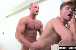 Big dick gay anal sex with facial 2