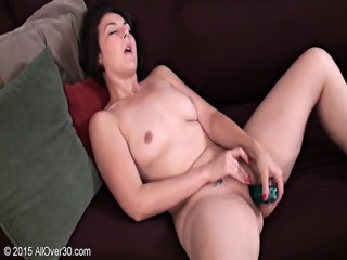 Mature Amateur Plays With Dildo