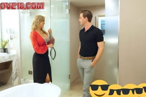 Brandi love Hot mom ready to go with step son 2017-xlove18-co