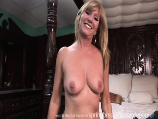 Sexy Milf Strip Tease