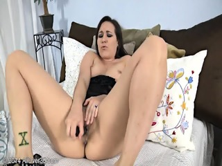 Sexy Mommy Alone In Bed