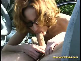 Skinny Redhead Outdoor Anal
