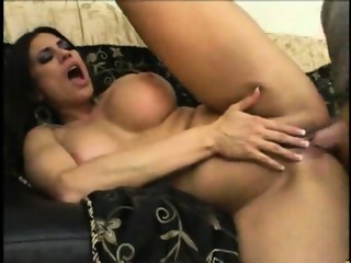 Big titted MILF in a 3-some - Pt. 3/4