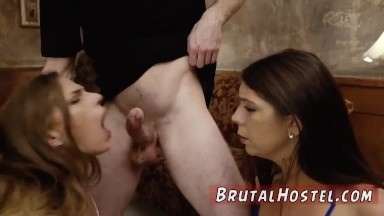 Czech extreme casting Two young sluts, Sydney Cole and Olivia Lua, our