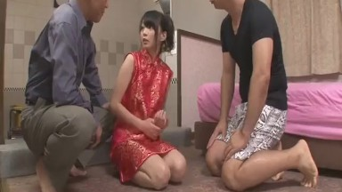 Steamy porn action along Japanese doll