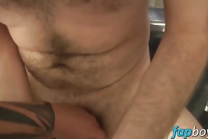 Horny hunks are eager to bang each other like wild animals