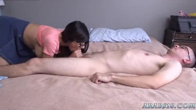 Worlds biggest cumshot and bisexual first time Mia Khalifa popped a fans