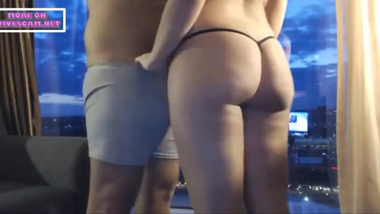 inexperienced lovers with a torrid window fuck