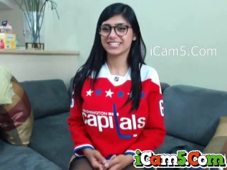 Mia Khalifa Webcam Sex iCam5.Com