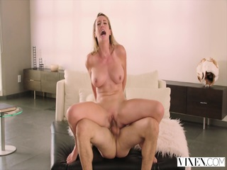 VIXEN Brett Rossi loves To Get Dominated By A gigantic cock
