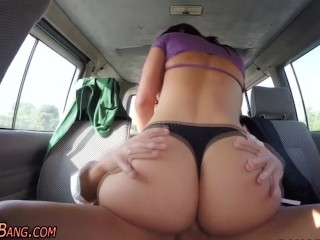 public slut rides big dick franceska jaimes big ass big tits