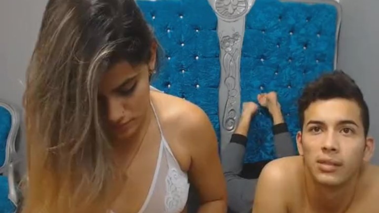sexy inexperienced couple blowing and Hard Fucking on Cam