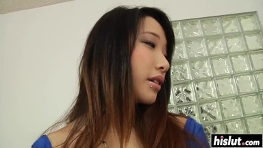 oriental hottie gets nailed in various positions