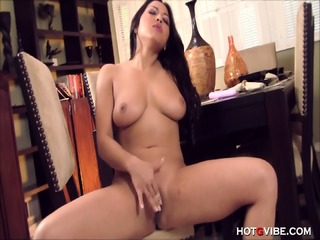 Asian Fondles Her Amazing Tits