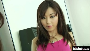 POV ass fucking banging for a charming asian