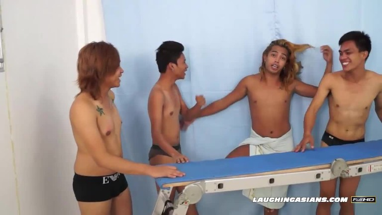 oriental bf Idol Bound and Tickled