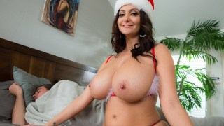 busty step-mother ava addams entices bf as usual