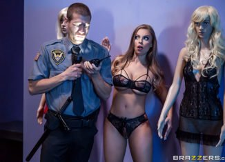 britney amber the mannequin amp the security guard your daily porno videos