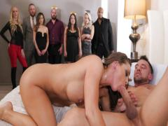 abigail mac gets plowed for the first-ever time in 2018 while everyone watches