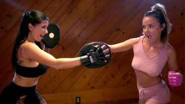 girls way dillion harper romi rain all girl exercise stories going hard