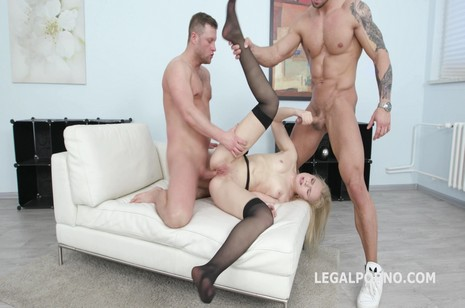 legalporno giorgio grandi 2on1 danna ray ballsack deep ass-fuck double penetration gapes facial cumshot gio590