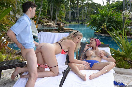 brazzers cougars like it fat cougars on vaca part 2