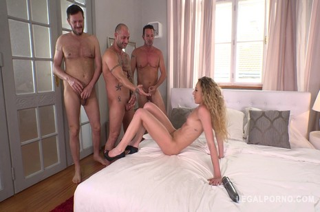 legalporno concentrate towheaded stunner angel emily heavy airtight double penetration by trio dicks fs016