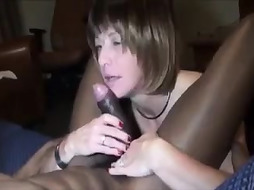 amateur elder cougar with a thick vag rails ebony dick