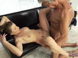 new elderly college bang-out with her beau s dad after