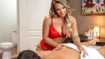 dirtymasseur cali carter first-ever day on the job