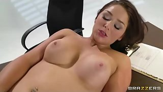 busty fancy honey get super-naughty hookup activity with a macho doctor