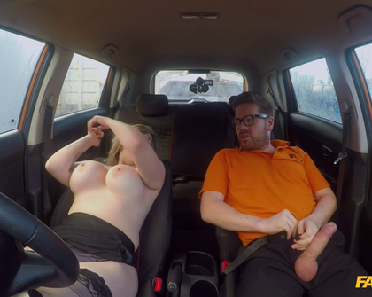 Fahrschule 34F Boobs Bouncing in Driving Lesson Madison Stuart Ryan Ryder 19 02 2018