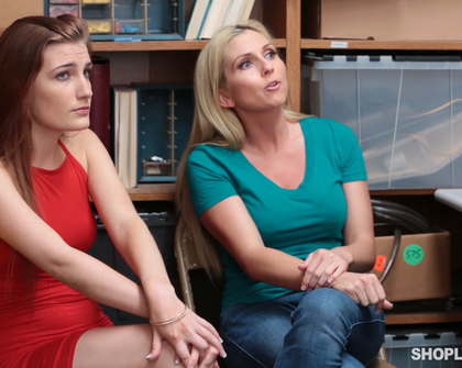 ShopLyfter Christie Stevens And Nina Nirvana