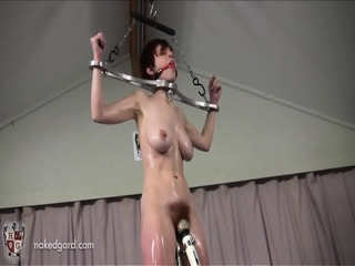 Rotating Pussy Pole In Use
