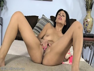 Footsie Lady In Solo Action