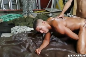 Army men working out naked gay Fight Club