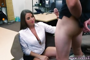 Big tits orgasm PawnShop Confession!