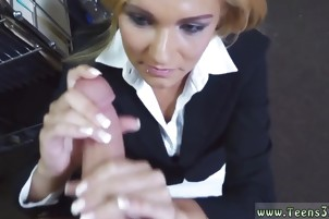 Blowjob tip dick Hot Milf Banged At The PawnSHop