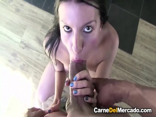 Carne Del Mercado - Naughty Colombian Teen Gets Picked Up, Fucked And Cummed On In Steamy Fuck